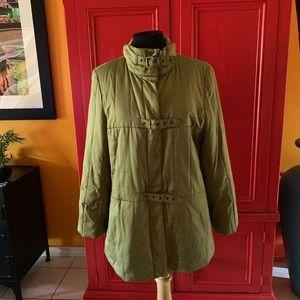 "BEAUTIFUL CARLISLE puffer coat. Olive green 28"""